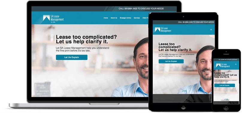 SA Lease Management Web Design
